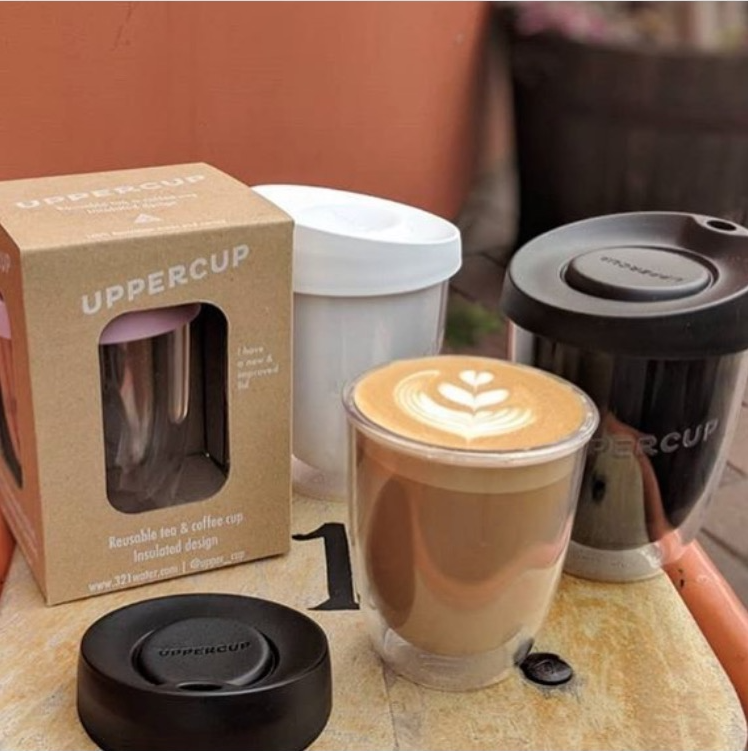 Uppercup 12oz large coffee